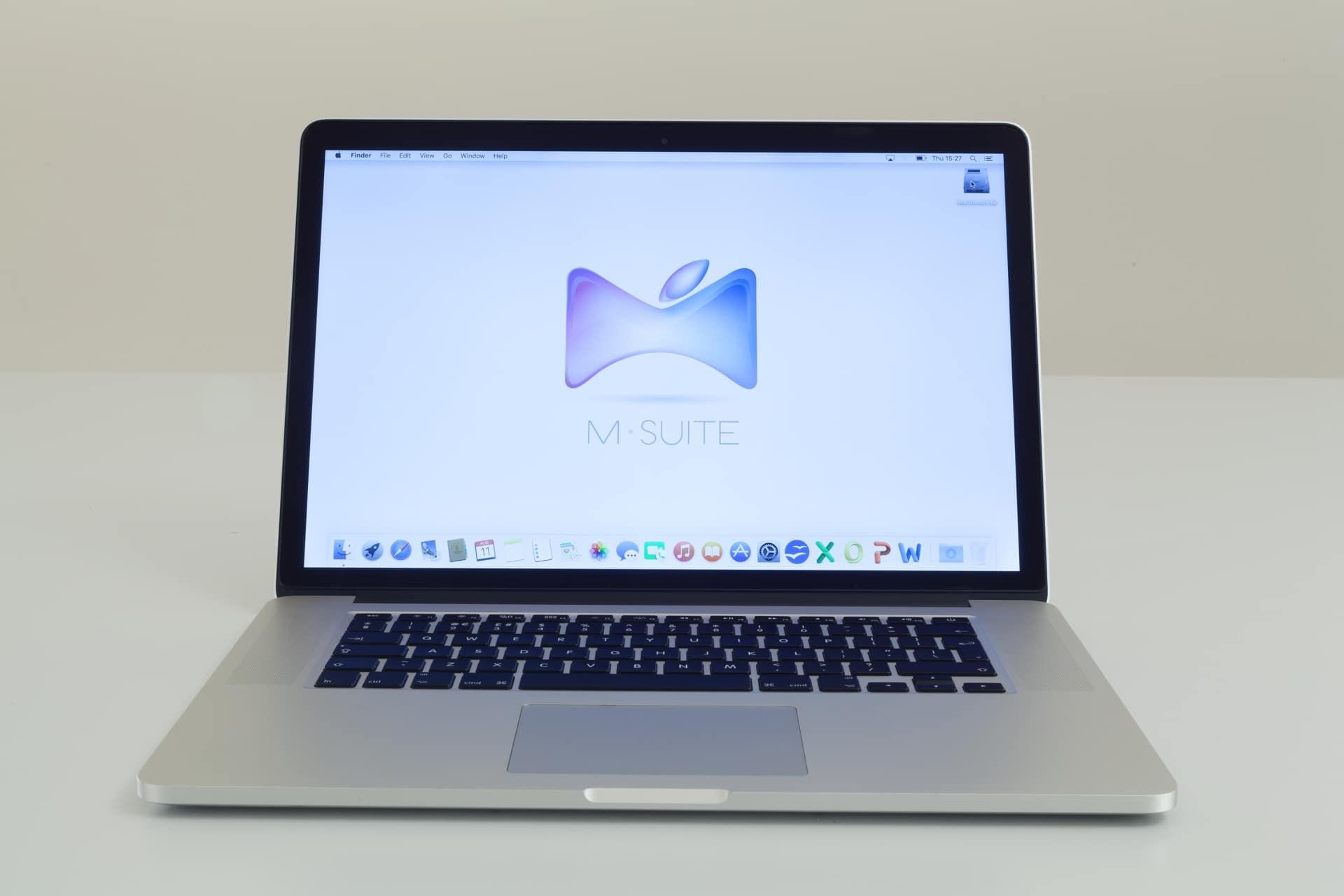 Apple macbook pro retina 15 inch 2 2ghz core i7 mid 2015 m suite - Macbook pro 15 retina ports ...