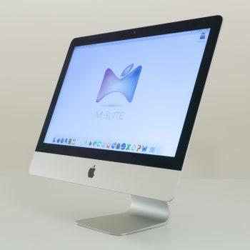 iMac 21 Slim Front Side On
