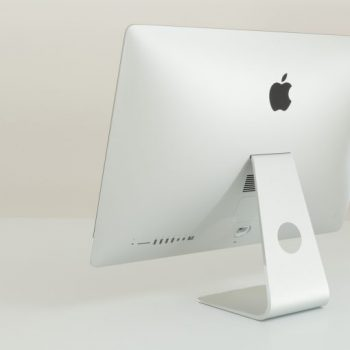 iMac 27 Slim Rear Side